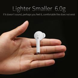 Wholesale clip bluetooth headset mini - New fruit powder one A1 Wireless Mini Bluetooth Headset Earbuds 4.1 Stereo Monocular V1 Ear Clip 10m Super Efficient Customizable
