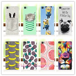 Wholesale Minion Items - Wholesale-Fruit Minions Banana Perfect Phone item Case For BQ Aquaris M5 Cover For BQ M5 Back Cover+Pen Gift