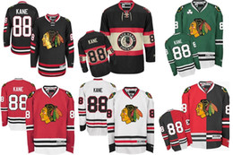 Wholesale Cheap Gold China - 2016 New Cheap Chicago Blackhawk Jerseys Patrick Kane Jersey Mens China Jerseys Authentic Chicago Blackhawks 100% Stitched Hockey Jerseys