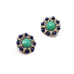 Wholesale Trendy Ear Cuffs - Shijie 2014 Trendy Statement Jewelry Luxury 18k Gold Plated Set Crystal Clip Earrings for Women Clip Earrings
