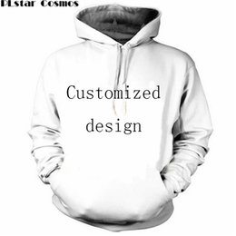 Wholesale Loose Long Tops - New Fashion Couples Men Women Unisex Customized Design 3D Print Hoodies Sweater Sweatshirt Jacket Pullover Top
