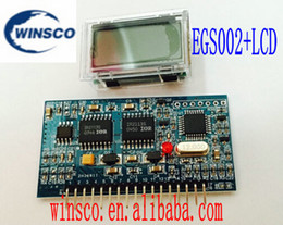 "Wholesale Lcd Pure Sine Wave Inverter - Wholesale-2PCS LOT EGS002+LCD 100% NEW EG Pure sine wave inverter driven plate EGS002+LCD ""EG8010 + IR2110"" driver module"