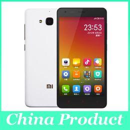 "Wholesale Red Rice Phone - Original Xiaomi Redmi 2 Phone LTE FDD B3 B7 Red Rice 2 Dual SIM MSM8916 Quad Core 4.7"" 1GB RAM 8GB ROM"