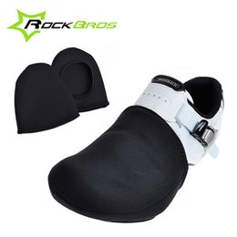 Gros-RockBros Cyclisme Chaussure Toe Cover Sports de Plein Air Porter Vélo Chaussure Toe Cover Bicycle Protector Warmer Boot Cover Noir Taille EUR 39-44 ? partir de fabricateur