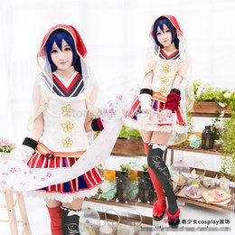Wholesale Umi Sonoda - Wholesale-LOVE LIVE! Sonoda Umi Fairy Tale Uniforms Cosplay Costume Free Shipping