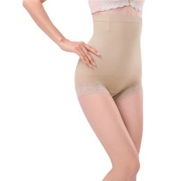 Wholesale Shapewear Seamless Brief - Wholesale-Body Shaper Seamless Women Brief High Waist Trainer Belly Control Shapewear Pants Shorts Hot