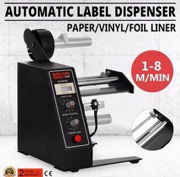 2019 macchine viniliche Distributore automatico di etichette Dispositivo separatore automatico di etichette AL-1150D NUOVO distributore automatico di etichette in carta vinilica