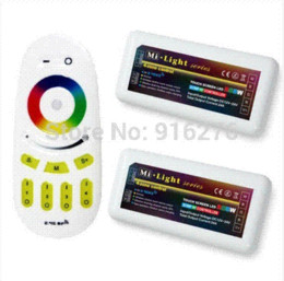 UK led remote dimmers - mi.light 2.4G Hz wifi RGBW RGB White Warm white Wireless RF LED touch Controller Dimmer Touch Remote 12 -24V 24A ,