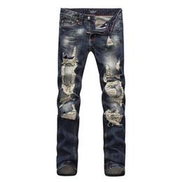 Wholesale Black Famous People - Famous fear of God p p hole man skull motorcycle brand brand of men's jeans pants designer jeans black people rock revival jeans