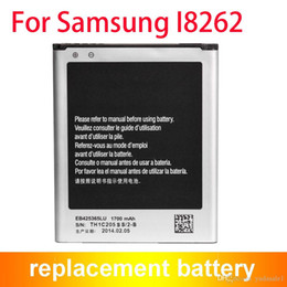 Wholesale Galaxy I8262 - Replacement Mobile Phone Battery For Samsung Galaxy I8262 Battery 1700mAh EB425365LU