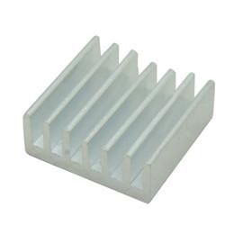 gpu chip Sconti Wholesale-50pcs dissipatore di calore in alluminio estruso 14x14x6mm, per chip CPU GPU VGA RAM LED radiatore IC, COOLER