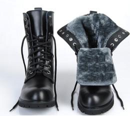 Wholesale Black Stud Ankle Boots - Warm Lace-up Vintage Rivet Women Men Genuine Leather Motorcycle Boots Fashion Punk Stud Skull Lace Up Ankle Boots Ladies Rivet Martin Boots