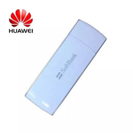 Wholesale Unlock Card Dongle - Cheap Unlocked HUAWEI SoftBank AP02HW modem broadband 4G USB LTE B41 Dongle with Sim Card Slot