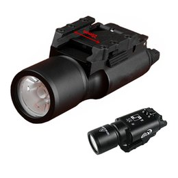 Wholesale Tactical Scope For Hunting Rifle - XWXS SF New Arrival X300 LED Hunting Light tactical Fashlight for Handgun Pistol Rifle Scope for Hunting Shooting