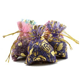 Wholesale Scented Sachets Wholesale - Natural Lavender Scented Fragrance Sachet Aromatherapy Automobile, Closets And Dresser Car Bedroom Air Freshener Sachet Sachets Present