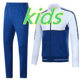 Wholesale Long Sleeve Xs - kids suit 2017-18 KIDS DYBALA long sleeves full zipper Football jacket sportswear 17 18 juv HIGUAIN MARCHISIO soccer jersey jacket Training