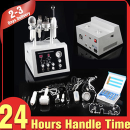 Wholesale diamond high frequency - 7In1 Diamond Microdermabrasion Dermabrasion Hot&Cold Hammer Photon Ultrasound Bio Skin Scrubber High Frequency Professional Beauty Equipment