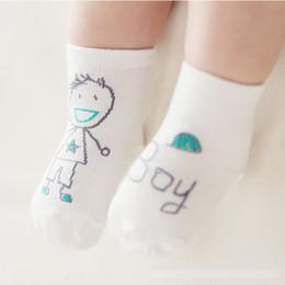 Wholesale Old Socks - 12Pairs Lot Baby Boys Girls Cute Scrawl Socks Suitable Kids Children Toddler Lovely Socks For 0-4 Years Old Infant Baby