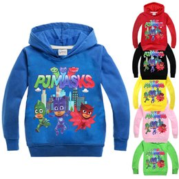 Wholesale Boys Jumpers - Children Spring Autumn Hoodies Sweatshirts Girls Boys Cartoon Printed Long Sleeve Hoody Clothing Kids Cotton Colours Hooded Clothes Jumper