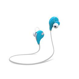 Auricular bluetooth qy7 online-Marca In-ear Auriculares Bluetooth QY7 Bluetooth 4.0 Auriculares Estéreo Deporte de la manera Corriendo Auriculares Música de estudio Auricular Con Micrófono