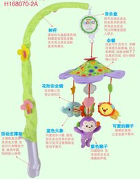 Wholesale Baby Bedding Forest - Baby Mobile Rattle Bed Bell Kids Toys Musical Baby Crib forest Animal Hanging Rattle Toys with Music Box