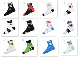 Wholesale Cycling Tops Wholesale - The tour DE France New 2014 Mountain bike socks cycling sport socks Road bicycle socks Coolmax Material top quality GC-01