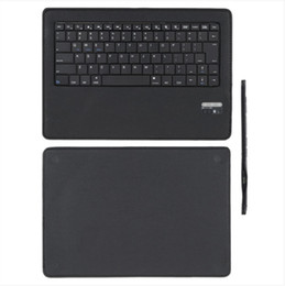 Wholesale Magnetic Case Android - Universal Folio Wireless Bluetooth Keyboard and PU Leather Case Cover Stand Holder Magnetic for Android 9-10 inch Tablet