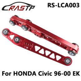 Wholesale Civic Ek Arms - New Rear Lower Control Arms LCA Gold Billet For HONDA CIVIC 1996-2000 EK RS-LCA003