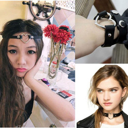 Wholesale One Direction Infinity Necklaces - More than 10 colors handmade love One Direction infinity charm necklace PU Leather bangles jewelry women gift hot wholesale