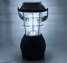 super bright solar camping lanterns Promo Codes - Super Bright Solar Camping Lantern 36 Led Solar Camping Lamp Solar Hand Lamp Rechargeable Emergency Light Camping Lantern Portable Lanterns