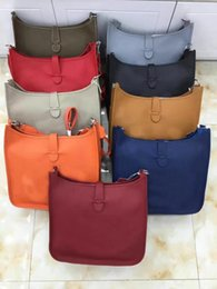 Wholesale Original Leather Handbags - NEWEST! Genuine Leather HOT SALE Original Quality female Handbags Chain Shoulder bag Diamond Lattice bag Shoulder strap handles