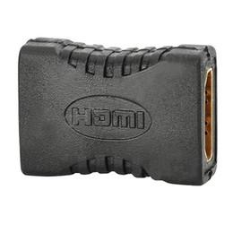 Canada En gros 100 pcs / lot HDMI Femelle À Femelle Connecteur Vidéo Coupler Extender Adaptateur Pour HDTV HDCP 1080 P Offre