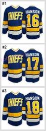 Wholesale Kids Boy Jacked - #16 Jack HANSON 2016 Cheap Hockey Jerseys ICE Winter mens women kids Stitched Jersey Free shipping