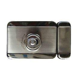 Wholesale Electric Motor Door - free shipping mute electric motor lock Intelligent silent electronic lock use for access control anti-theft doors wooden doors