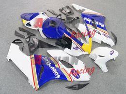 Wholesale honda fit body kits - NEW 2014 White blue INJECTION Fairing Body Kit Set Fit CBR1000RR 2004-2005 R35.