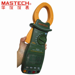 Wholesale Power Energy Meter - Wholesale-MASTECH MS2201 Digital Power Clamp Meter ACTIVE APPARENT REACTIVE POWER POWER FACTOR and ACTIVE ENERGY Tester