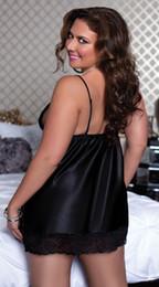 Deutschland Dessous Plus Size Sexy Nachtkleid Sexy Kleidung Set Sexy Nachtwäsche Pyjamas Für Frauen 2Xl 3Xl 4Xl 5Xl Versorgung