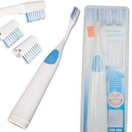 Wholesale Cheap Massager - Ultrasonic Toothbrush + 3 Brush Heads Massage Massager Electric Toothbrush Cheap Electric Toothbrush Cheap Electric Toothbrush