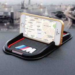 Wholesale Bmw F25 - Rubber good quality M peroformance M emblem car no slip phone car phone support for BMW E36 E46 E60 E70 E40 E90 F25 F30 F10
