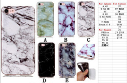 Wholesale Iphone 4s Cases Skins - For iPhone 8 7 7Plus 6 6S Plus SE 5 5S 5C 4 4S Ipod Touch 6 5 6g 5g Marble Rock Stone Pattern Soft TPU IMD Case Silicone Gel Covers Skin