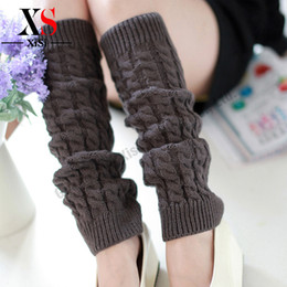 Wholesale Womens Gray Boots - Wholesale-Fashion Gaiters Boot Cuffs Women Warm womens lace boot cuffs socks girl leg warmers winter boot socks women 2016 New 9 colors