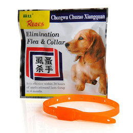 Wholesale Mosquito Collars - Dogs Cats Anti Fleas Ticks Mosquitoes Pet Collar Adjustable Protect Neck Ring for cat dog three size 30 39 55cm