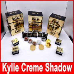 Wholesale Eyebrow Makeup - Kylie Jenner Kit birthday Edition eyeshadow cream Cosmetics eye shadow Kyshadow eyebrow makeup Long-lasting copper rose gold