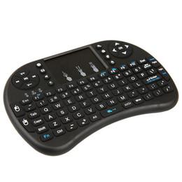 Teclado I8 sem fio e 2.4GHz Fly Air Mouse com Touchpad Controle Remoto Recarregável para PC TV Android TV Box Dongle Tablet de Fornecedores de tablet rosa preto