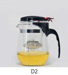 Wholesale Glass Tea Sets Wholesale - Fashion Hot 500ml Heat Resistant Glass Tea Pot Flower Tea Set Puer kettle Coffee Teapot