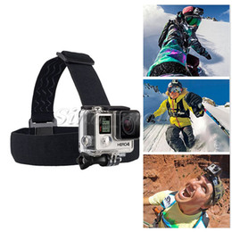 Wholesale Box Size Camera - L Size Box Bag For Gopro SJCAM Action Camera Accessories Adjustable Chest Head Strap Mount Convenient 13 In 1 Kit