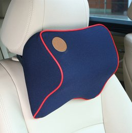 Wholesale Bones Pillow - Memory cotton car headrest car with neck pillow pillow memory cotton bones nursing neck interior supplies automotive supplies