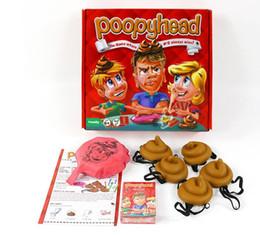Wholesale Interactive Games Children - card Game Poopyhead Board Game Parent-child Interactive Gadgets family party Fun Board Game anti stress toys KKA3505