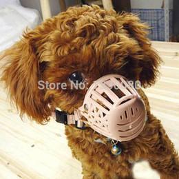 Wholesale Basket Dog Muzzles - 2016 New Plastic Dogs Muzzle Basket Design 7 Sizes Anti-biting Adjusting Straps Mask High Quality Free Shipping Size1 E5M1 order<$18no track
