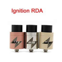 Wholesale Post Fittings - Ignition RDA Atomizers Clone 5 Color Vaporizer E Cigarette 22mm Larger Air Chamber 2 POST fit 510 Mods DHL Free ATB514